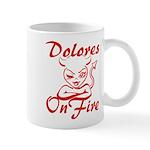Dolores On Fire Mug
