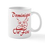 Dominique On Fire Mug