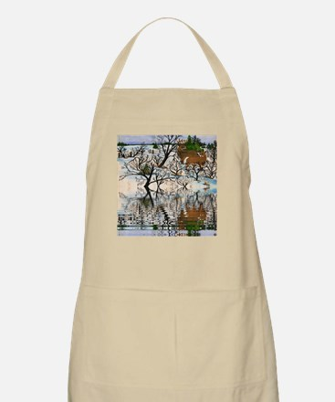 Farm Deer Reflection Apron