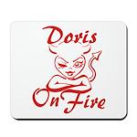 Doris On Fire Mousepad