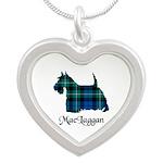 Terrier-MacLaggan Silver Heart Necklace