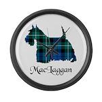 Terrier-MacLaggan Large Wall Clock