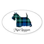 Terrier-MacLaggan Sticker (Oval 10 pk)