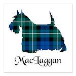 Terrier-MacLaggan Square Car Magnet 3