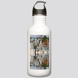 Farm Deer Reflection Stainless Water Bottle 1.0L