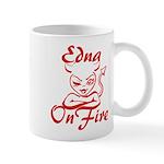 Edna On Fire Mug