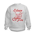 Eileen On Fire Kids Sweatshirt