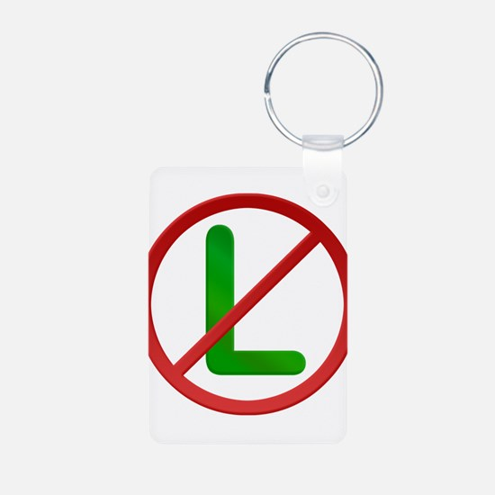 No L Noel Aluminum Photo Keychain