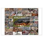 World Snake Day Large Poster