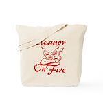 Eleanor On Fire Tote Bag