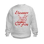 Eleanor On Fire Kids Sweatshirt