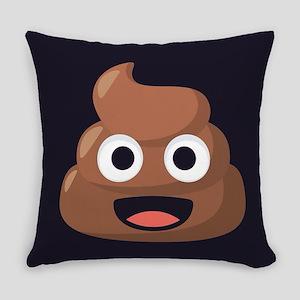 Poop Emoji Everyday Pillow