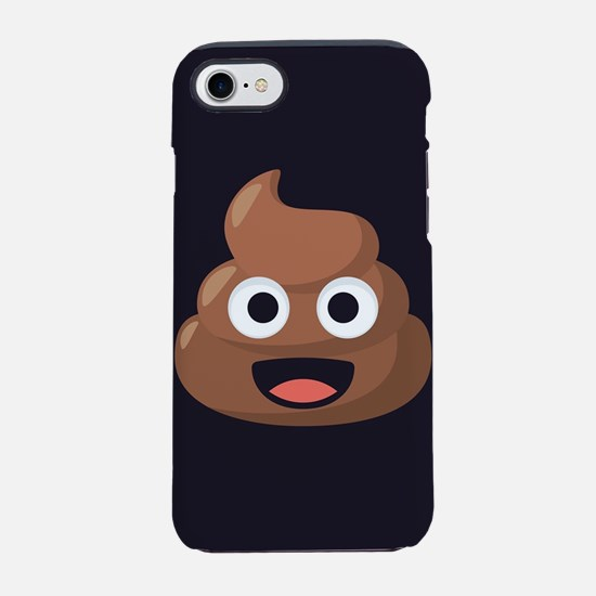 Poop Emoji iPhone 7 Tough Case