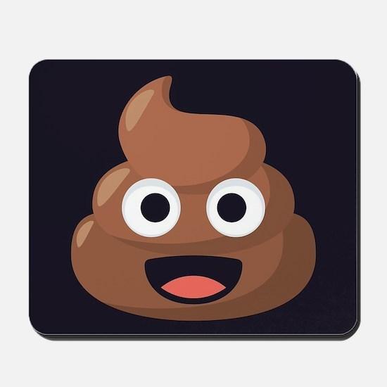 Poop Emoji Mousepad