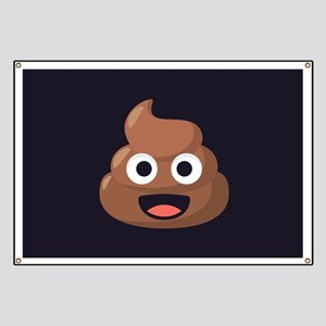 Poop Emoji Banner