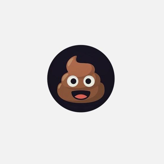Poop Emoji Mini Button