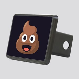 Poop Emoji Rectangular Hitch Cover