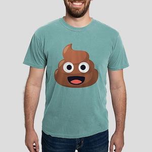 Poop Emoji Mens Comfort Colors Shirt