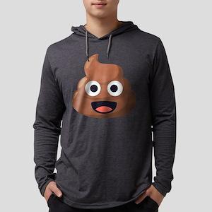 Poop Emoji Mens Hooded Shirt