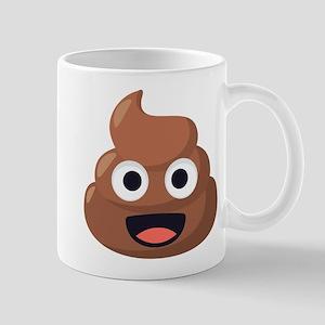 Poop Emoji 11 oz Ceramic Mug