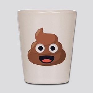 Poop Emoji Shot Glass