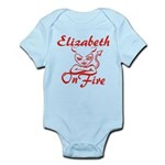 Elizabeth On Fire Infant Bodysuit