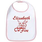 Elizabeth On Fire Bib