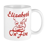 Elizabeth On Fire Mug