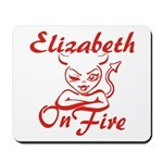 Elizabeth On Fire Mousepad