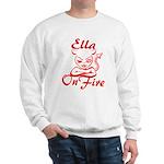 Ella On Fire Sweatshirt