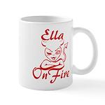 Ella On Fire Mug