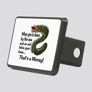 A Moray Rectangular Hitch Cover