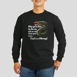 A Moray Long Sleeve Dark T-Shirt