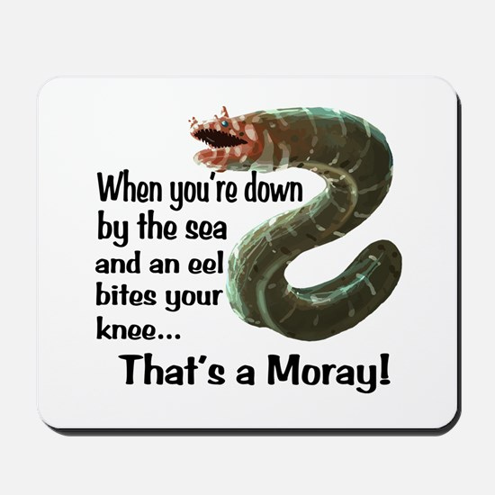 A Moray Mousepad