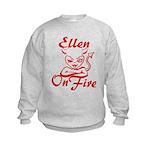 Ellen On Fire Kids Sweatshirt