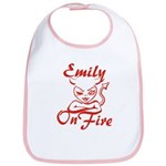 Emily On Fire Bib