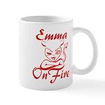 Emma On Fire Mug
