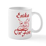 Erika On Fire Mug