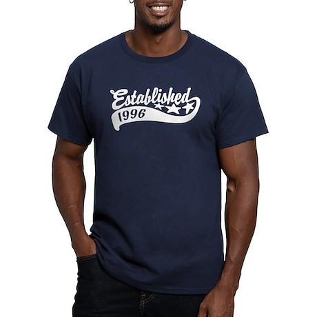 Established 1996 Men's Fitted T-Shirt (dark)
