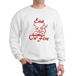 Eva On Fire Sweatshirt
