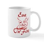 Eva On Fire Mug
