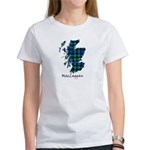 Map-MacLaggan Women's Classic White T-Shirt
