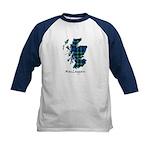 Map-MacLaggan Kids Baseball Tee