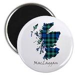 Map-MacLaggan Magnet