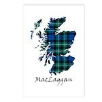 Map-MacLaggan Postcards (Package of 8)