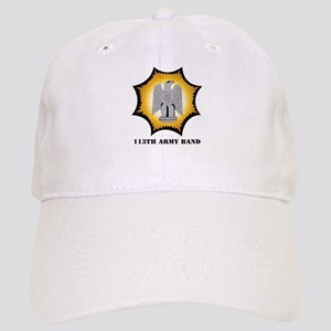 113th Army Band with Text Cap