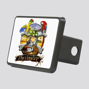 Pirate Parrots Rectangular Hitch Cover