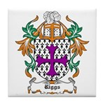 Riggs Coat of Arms Tile Coaster