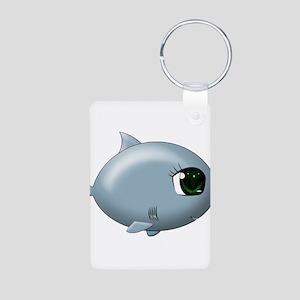 Baby Shark Aluminum Photo Keychain