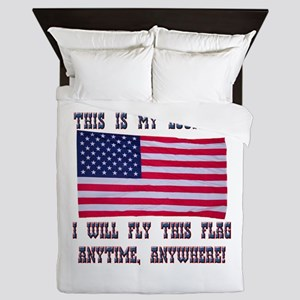 Flag2 Queen Duvet